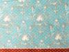Manech Wellsoft Baskılı Çift Kişilik Battaniye - Mavi / Turuncu