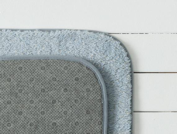 Acel 2'li Banyo Paspas Takımı - Indigo