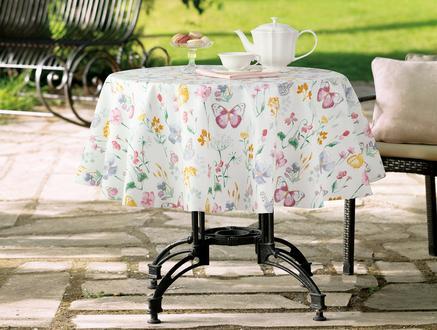 Flory  Masa Örtüsü - Beyaz
