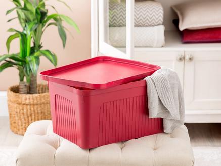 Denys Saklama ve Düzenleme Kutusu- Carmen Kırmızı