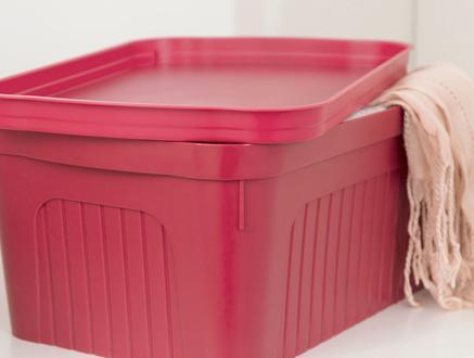 Denys Saklama ve Düzenleme Kutusu - Carmen Kırmızı