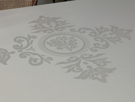 Jeudi Masa Örtüsü - Gri - 160x230 cm