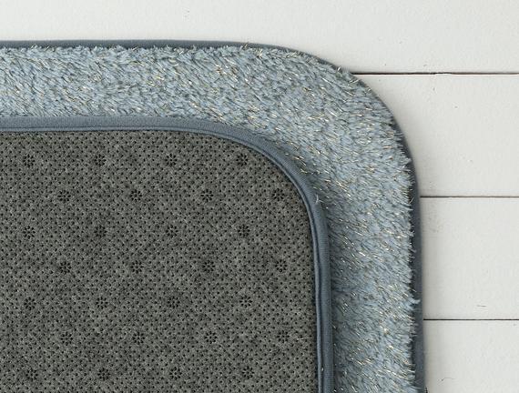 Acel 2'li Banyo Paspası - Indigo - 60x100 + 50x60 cm