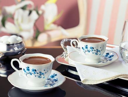 La Muette 2'li Yuvarlak Kahve Fincan Takımı