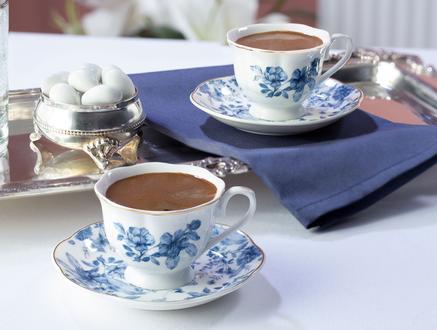 Le Meurice 2'li Yuvarlak Kahve Fincan Takımı