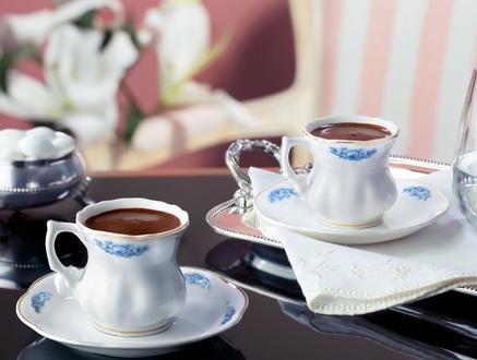 Le Rêve Bleu 4'lü Kahve Fincanı