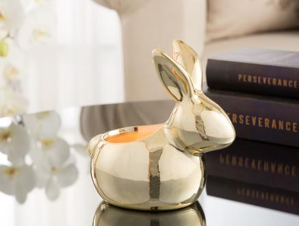 Golden Rabbit Obje