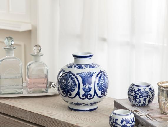 Lyon Bleu Blanc Vazo