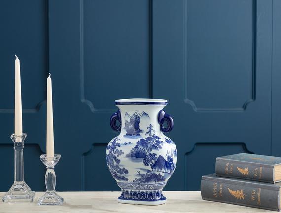 Reims Bleu Blanc Vazo
