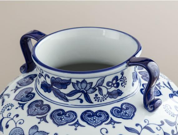 Vitry-sur-Seine Bleu Blanc Dekoratif Obje