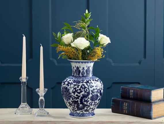 Drancy Bleu Blanc Vazo