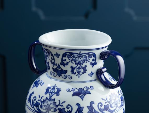 Valence Bleu Blanc Vazo