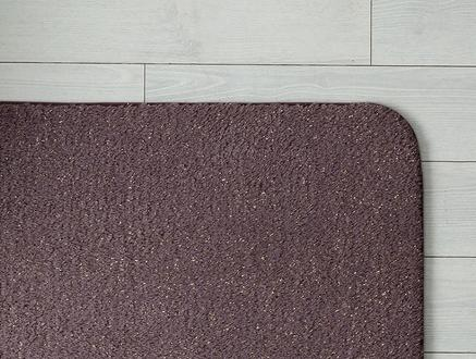 Acel Banyo Paspası -Koyu Mürdüm - 100x150 cm