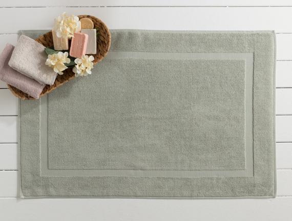 Saville Ayak Havlusu - Mint Yeşili - 60x90 cm