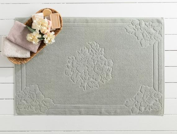 Olive Ayak Havlusu - Mint Yeşili - 60x90 cm