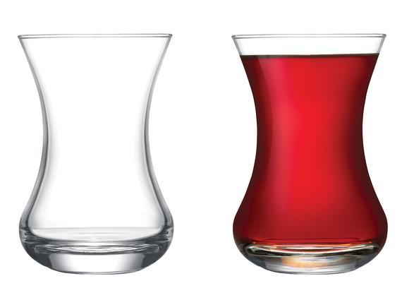 Lavem 6'lı Çay Bardağı Seti 155 ml