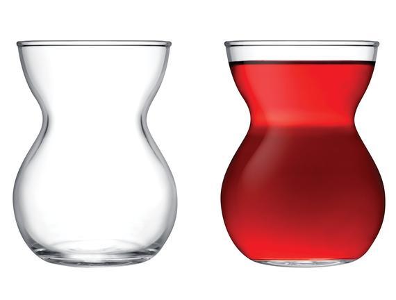 Pascala 6'lı Çay Bardağı Seti 140 ml