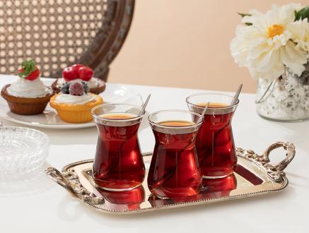 Francessa 6'lı Çay Bardağı Seti