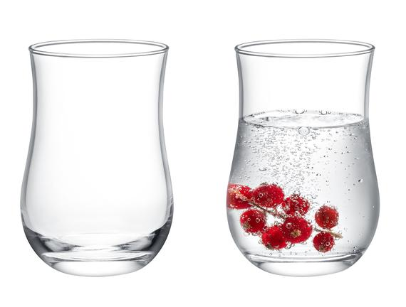 Coralie 4'lü Su Bardağı Seti 280 ml