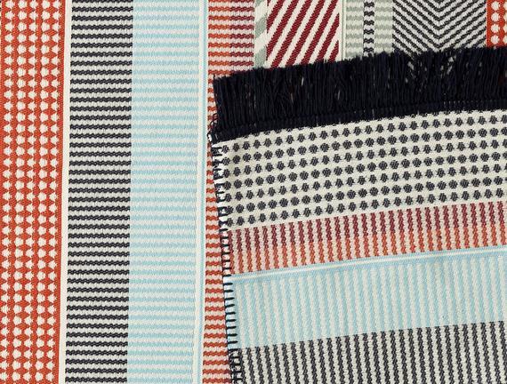 Eleonore Saçaklı Dokuma Kilim - Renkli - 120x180cm