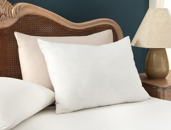 Microfiber Yastık - Beyaz