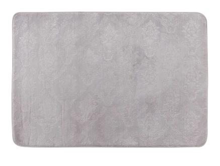 Emboss Banyo Paspası - Mürdüm - 100x150 cm