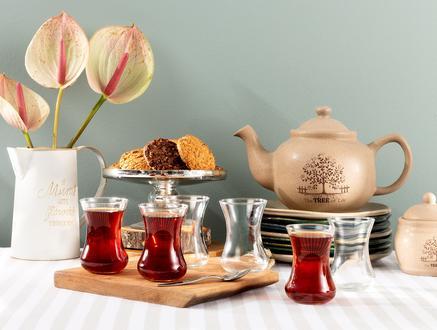 Victorine 6'lı Çay Bardağı Seti 108 ml