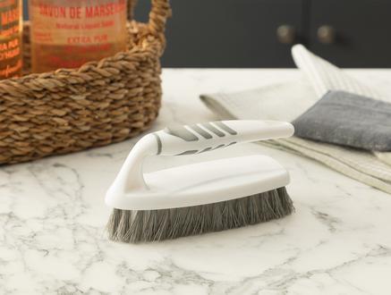 Graque Temizlik Fırçası - Beyaz / Gri