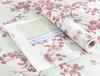 Laurette  Tek  Kullanımlık Masa Örtüsü - Kırmızı / Bej - 120x100 cm