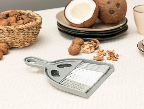 Graque Masa Temizleme Fırçası - Beyaz / Gri