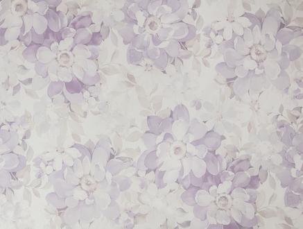 Amabella Masa Örtüsü - Mürdüm / Ekru - 140x140 cm