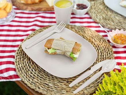 Piknik Seti - Soft Gri