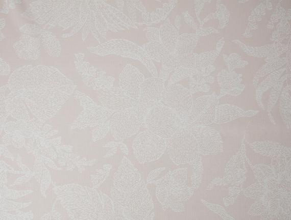 Elisa PVC Masa Örtüsü - Bej / Beyaz - 100x140 cm