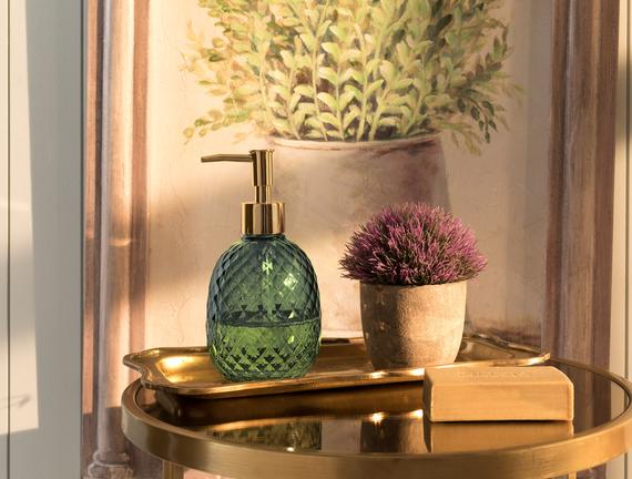 Tracy Sıvı Sabunluk - Yeşil