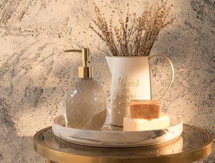 Tracy Sıvı Sabunluk - Bej