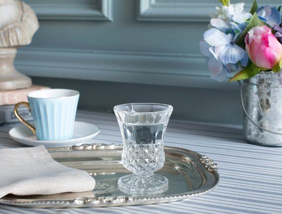 Audrey 4'lü Ayaklı Kahve Yanı Bardağı Seti