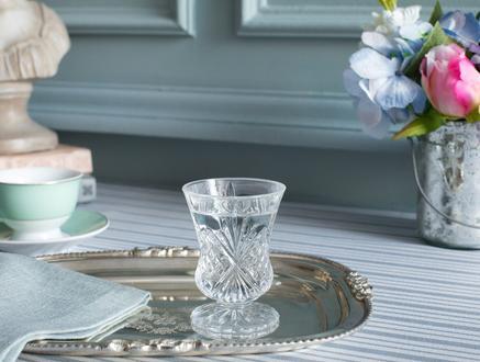 Aron 4'lü Ayaklı Kahve Yanı Bardağı Seti 55 ml