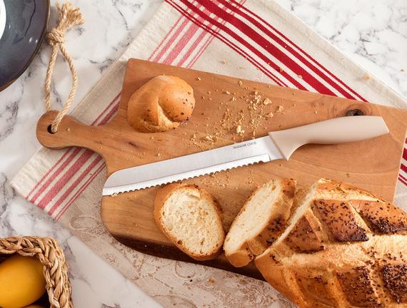 Nancy Ekmek Bıçağı - Soft Bej