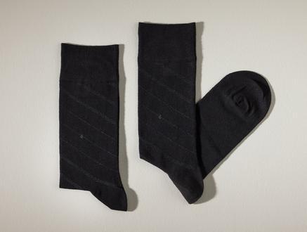 Rouen Erkek Soket Çorap - Siyah
