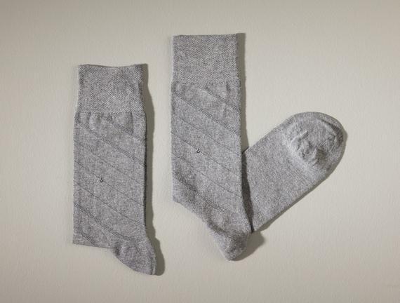 Rouen Erkek Soket Çorap - Gri