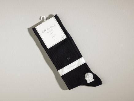 Pau Erkek Soket Çorap - Siyah