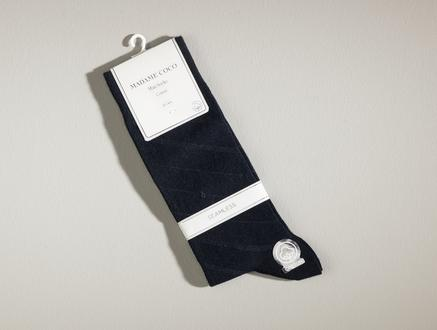Rouen Erkek Soket Çorap - Lacivert