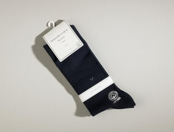 Pau Erkek Soket Çorap - Lacivert