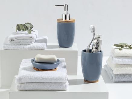 Bern 3'Lü Banyo Seti - Mavi