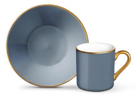 Phillipa 4'lü Kahve Fincan Takımı - Duman Mavisi