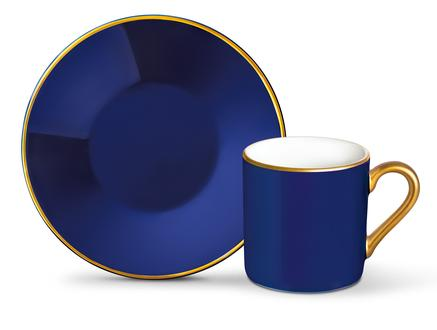Phillipa 4'lü Kahve Fincan Takımı - Lacivert