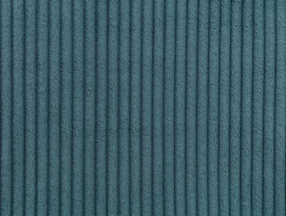 Emile Wellsoft Tek Kişilik Çift Taraflı Emboss Battaniye - Petrol Mavisi