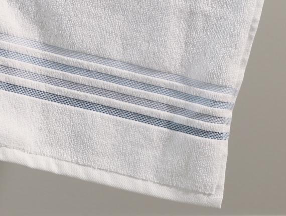 Sandy Yüz Havlusu - Beyaz - 50x70 cm