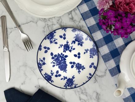 Rêve Bleu Nature Pasta Tabağı - 19cm