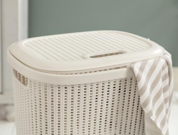 Rubicon Çamaşır Sepeti - Soft Ekru
